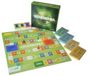 ServerMania Game board